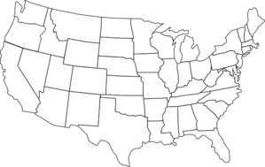image: Map of United States